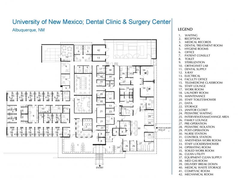 University of New Mexico, Dental Clinic and Surgery Center | The ...
