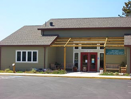 Community Health Center Entrance
