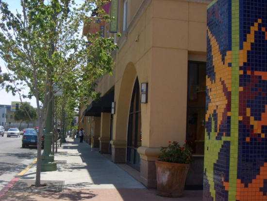 Street Entrance to the Fruitvale Transit Village