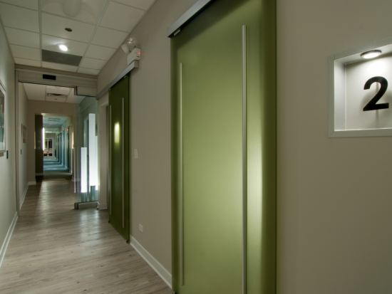 ORA Oral Surgery and Implant Studio Operating Room 2 Entrance