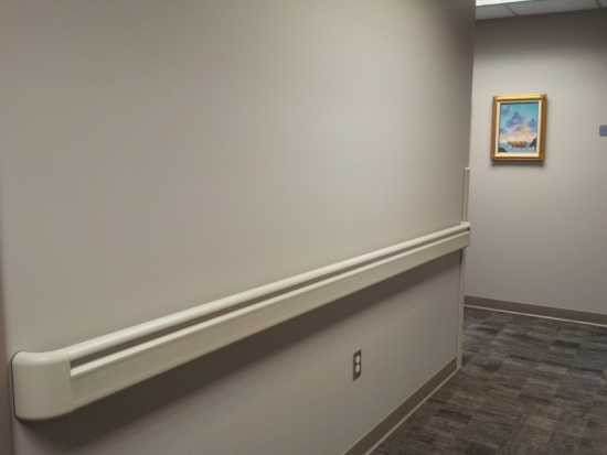 Interior Corridors are Designed to Decrease Stress and Promote Safety and Security