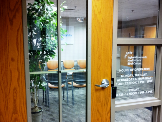 Internal Entry to Primary Care within the Community Mental Health Site