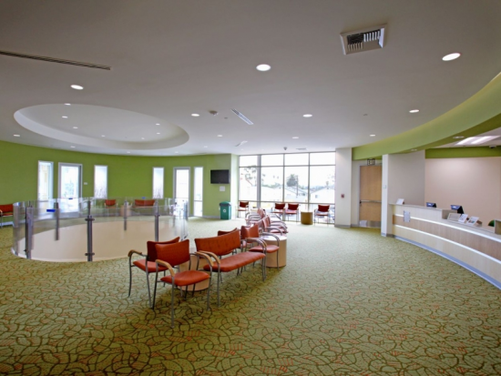 Second Floor Family Practice Waiting Area