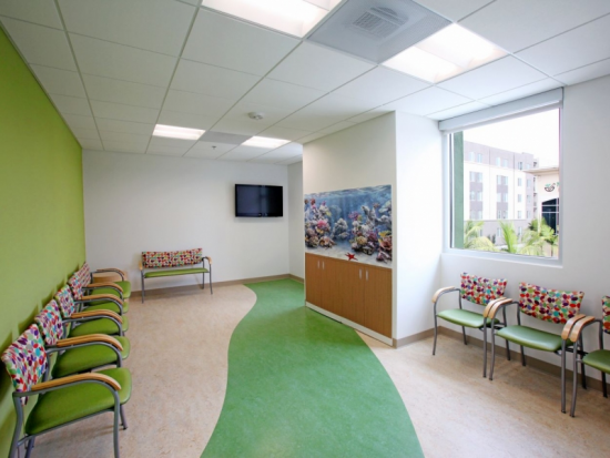 Sick Children's Waiting Area