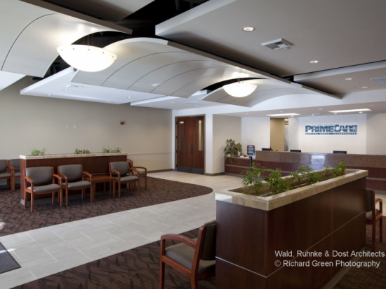 PrimeCare Reception Area